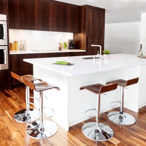 Photos Cuisines Modernes. Armoires De Cuisine De Style Moderne La ...